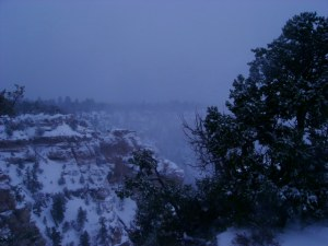 Grand Canyon in the Snow